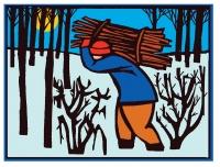 Xmas Woodcutter